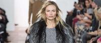 Fashion week : Michael Kors en grand manteau et fourrure pour un hiver confortable