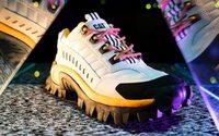 Caterpillar pose son empreinte sur le terrain des sneakers