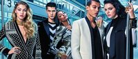 H&M reveals its print campaign for Balmain x H&M collection