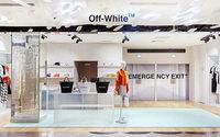 Off-White s'offre un corner aux Galeries Lafayette