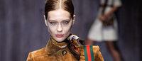 """Gucci presenta en Milán a una mujer con vaquero y el """"patchwork"""" por bandera"""