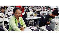 Camboja: exportações de roupas aumentam 6,7% em 2015