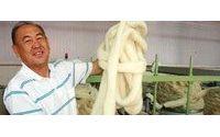 Первая фабрика  по переработке верблюжьей и овечьей шерсти в Казахстане
