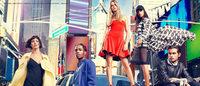 DKNY 2014年春広告にカーラ・デルヴィーニュ出演