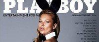バニーガール姿のケイト・モス 米Playboy誌の表紙を飾る