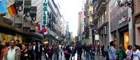 La calle de Preciados tiene los alquileres comerciales más altos de Madrid