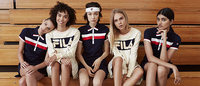 FILA and Urban Outfitters collaborate on a tennis-inspired capsule collection