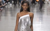 Sportswear met space age in a bravura Paco Rabanne show