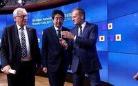La Unión Europea y Japón firman en Tokio su acuerdo de libre comercio