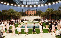 Chanel: Karl Lagerfeld takes couture to the south, but does not take a bow