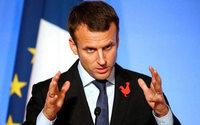 Emmanuel Macron en faveur d'une taxation européenne des Gafa