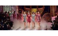 Fashion Week de  Milan : princesses d'hier et d'aujourd'hui de Dolce & Gabbana