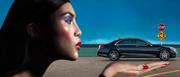 Carine Roitfeld cria campanha da Mercedes-Benz