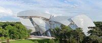 Frank Gehry, architecte de la Fondation Louis Vuitton, exposé au Centre Pompidou