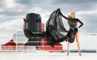 Luxury liner ship lifts anchor on first transatlantic fashion-themed cruise
