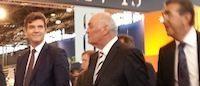 Arnaud Montebourg à la rencontre de la filière cuir