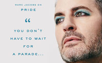 Marc Jacobs stars in his own new Pride-themed beauty campaign