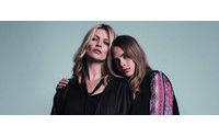 Mango desvela la campaña con Kate Moss y Cara Delevingne
