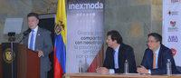 """Juan Manuel Santos: """"la innovación es el futuro de la industria textil"""""""