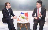 JD.com s'engage à vendre deux milliards d'euros de produits français