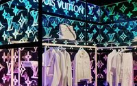 Virgil Abloh's debut Louis Vuitton men's creations land in London