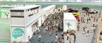ビーチ・コンテナモール・イベントスペースの複合施設「マジックビーチ」豊洲にオープン