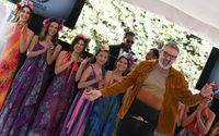 Benito Fernández desfila por primera vez en Ciudad de México