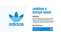 Kanye West and Adidas campaign