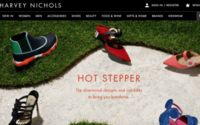 Harvey Nichols website conversion rises, buying chief exits