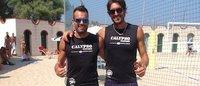 Calypso sponsor dei campioni italiani di beach volley Casadei/Ficosecco