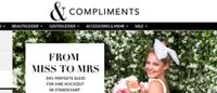 &Compliments: Neue E-Commerce-Plattform für Brautmoden