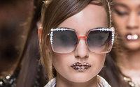 Fendi flashes glitter-lipped vision of summer