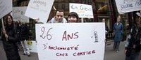 Cartier: lavoratori in sciopero, manifestazione a Parigi