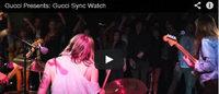 """Gucci crea una piattaforma multimediale per lanciare l'orologio """"Gucci Sync"""""""