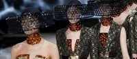 Honeybees, with a sting, at McQueen show in Paris