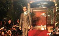 Dolce & Gabbana stage stealth Sartoria show
