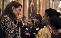 Duchess of Cambridge hosts Commonwealth Fashion Exchange reception
