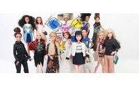 Barbie relookée par treize créateurs de mode