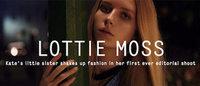 ケイト・モスの妹ロティ・モスがモデルに Dazed誌に初登場