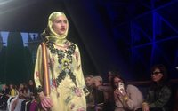 Antonio Marras trials structured looks and veiled silhouettes in Dubai