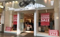 Jaeger administrators to axe staff, close 20 stores as clearance sales continue