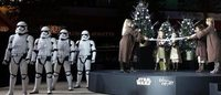 Star Wars parade takes over the Galeries Lafayette holiday pop-up