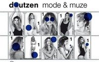 La Poste néerlandaise affiche Doutzen Kroes sur ses timbres
