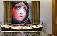 Три российских художника оформили флагман Cartier