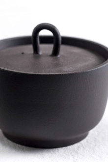 A Taste Of China Design Around The Table Neri Hu Design  Zisha Tea Project Tea Canister Black Stone Chocolate
