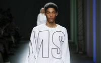 MSGM: Massimo Giorgetti, newly blonde, strikes a home run