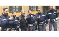 Dainese crea le divise del reparto motociclisti della Questura di Milano