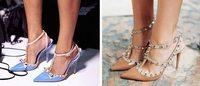 Kate Spade新款高跟鞋涉嫌抄袭Valentino铆钉高跟鞋