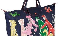 La dessinatrice Clo'e Floirat appose son univers sur les classiques de Longchamp