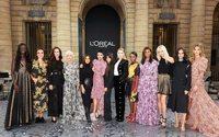 L'Oréal celebra el empoderamiento femenino con una pasarela de estrellas en París